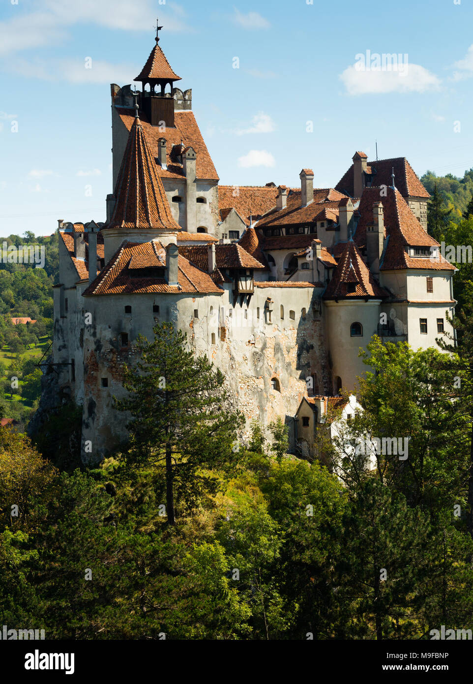 Bran Castle Known As Dracula S Castle Brasov Romania Stock Photo Alamy