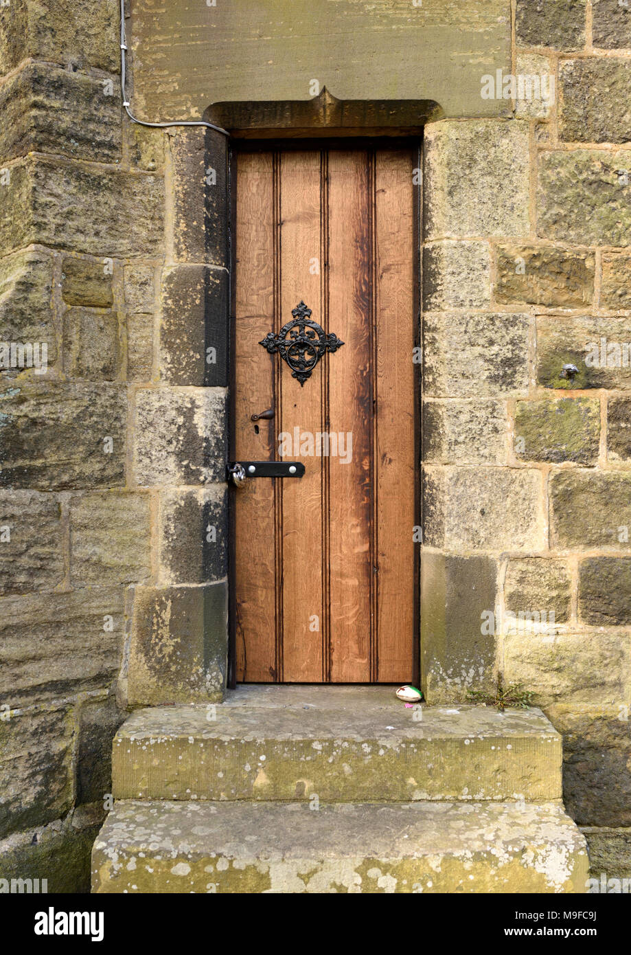 church door above two stone steps with heavy stone lintel above & church door above two stone steps with heavy stone lintel above ...