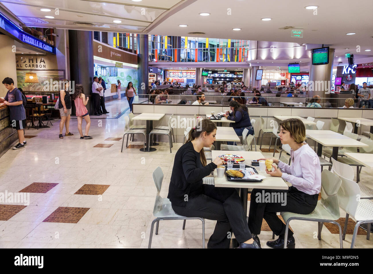 South Center Mall Food Court