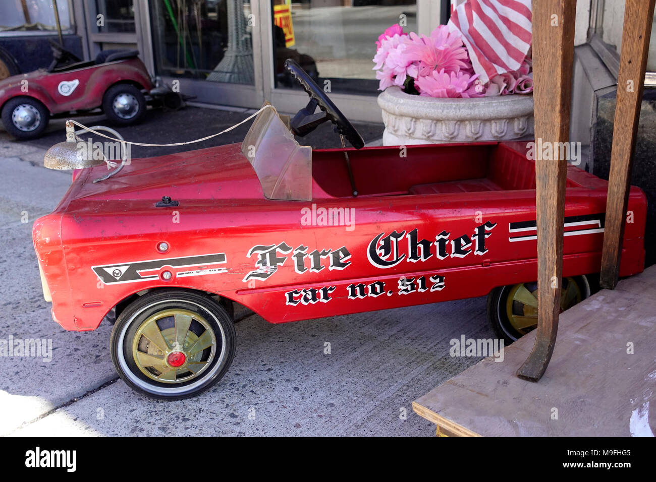 Old Vintage Pedal Car High Resolution Stock Photography And Images Alamy