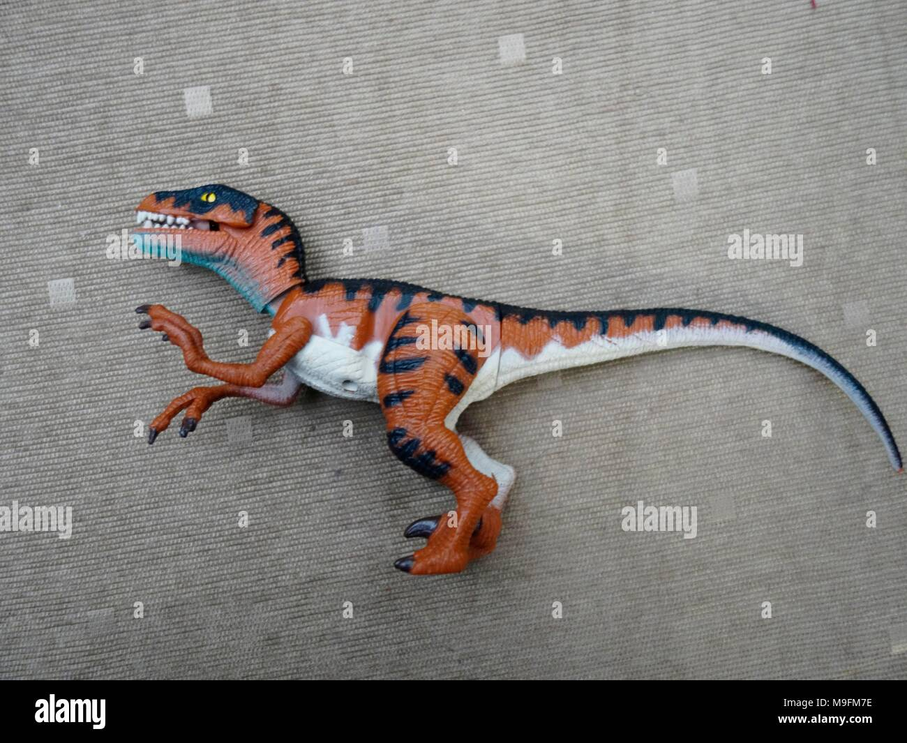 Jurassic Park 90s action figure by kenner - Stock Image