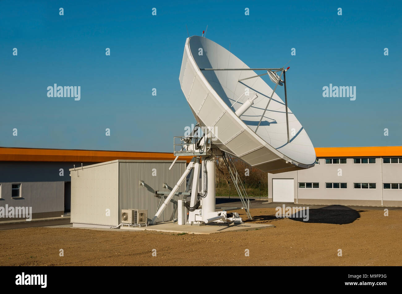 TV telecommunications engineering - Stock Image