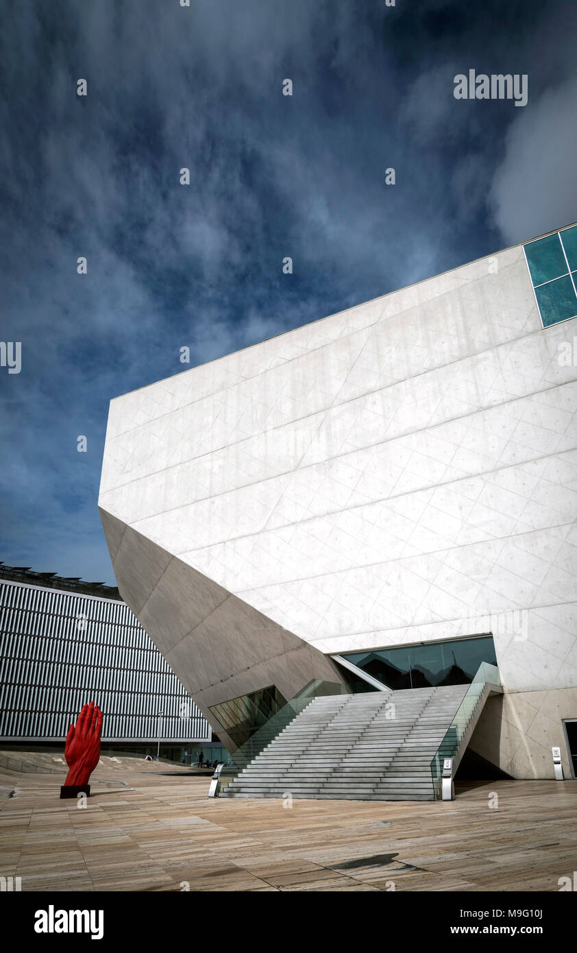 Casa Moderne And Design.Casa Da Musica Landmark Modern Architecture Urban Building In
