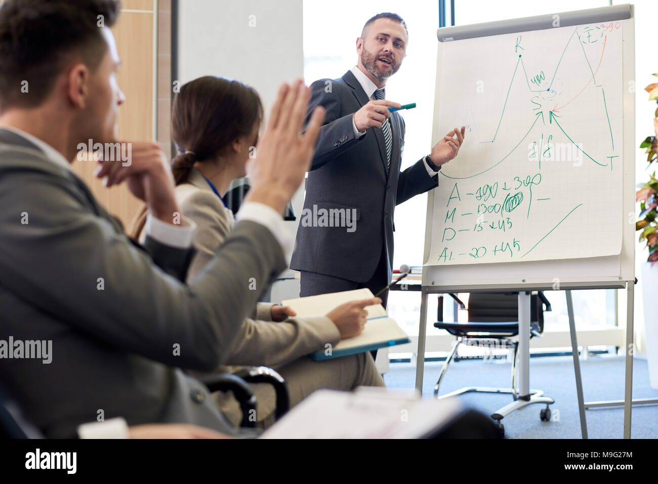 Training Seminar on Business - Stock Image
