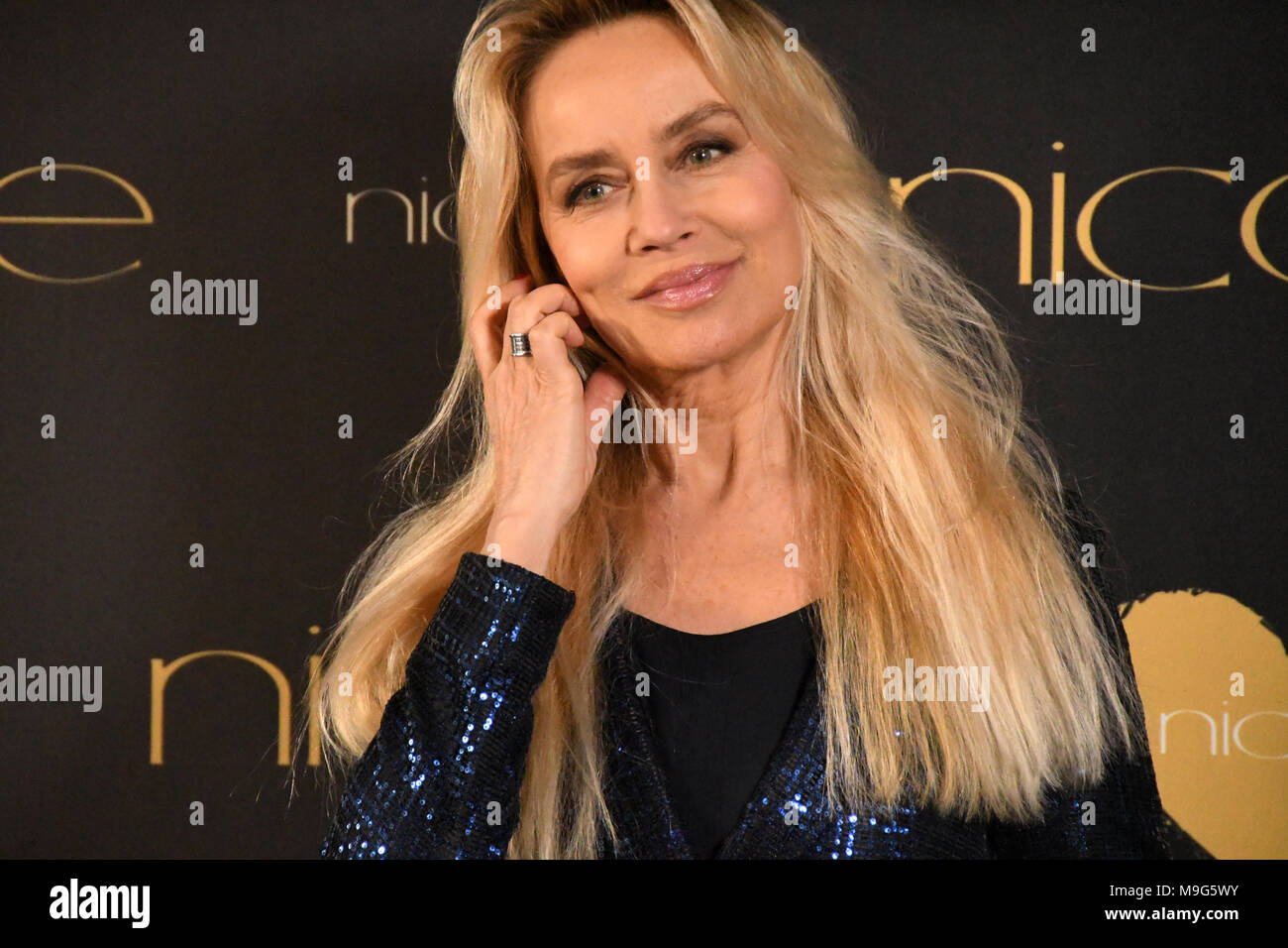 Rome Italy 10 March 10 Congress Palace - Photocall Nicole