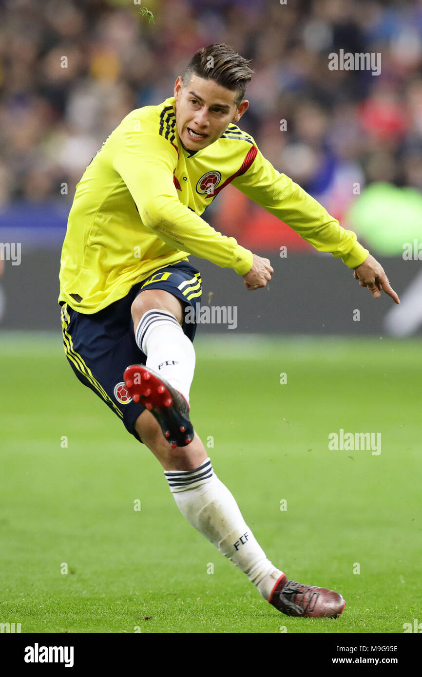 James Rodriguez (COL), MARCH 23, 2018 - Football/Soccer ...