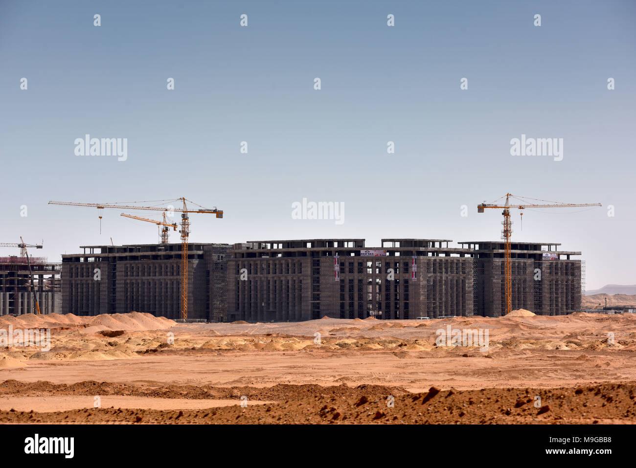 New Administrative Capital Egypt Stock Photos & New