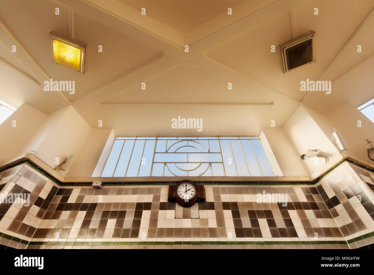 London Underground Tube Station: Ealing Common Stock Photo