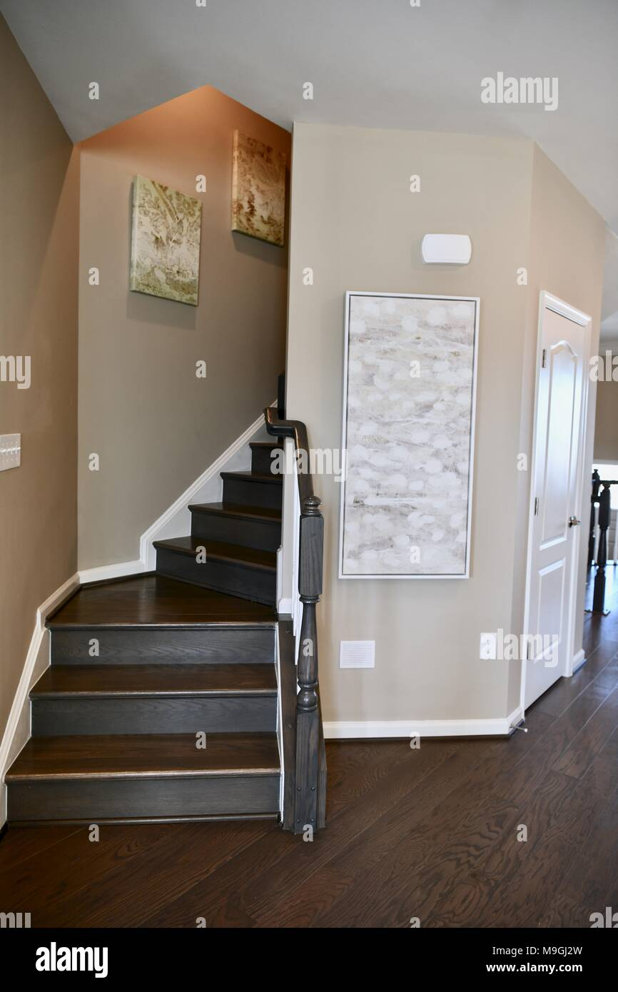 Exceptionnel Wood Stairs Inside House Stock Photo: 178001009   Alamy