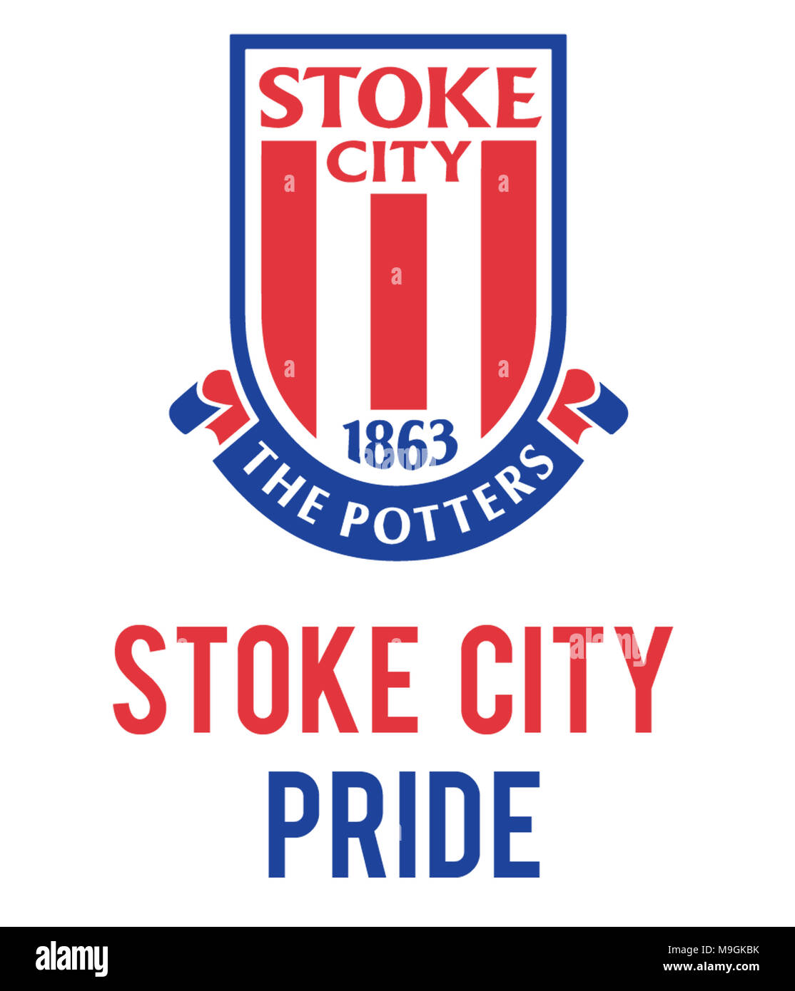 Stoke City Pride - Stock Image