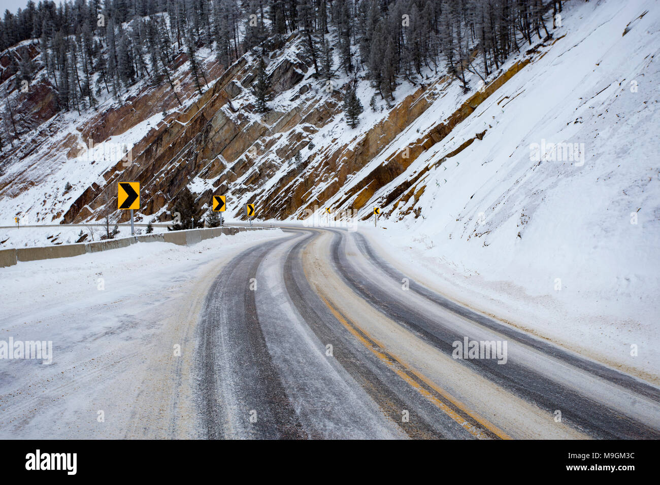 Road Conditions Stock Photos & Road Conditions Stock Images - Alamy
