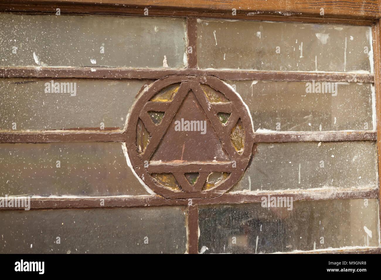 Jewish star on old vintage door in Budapest downtown - Stock Image & Jewish Star Door Stock Photos \u0026 Jewish Star Door Stock Images - Alamy