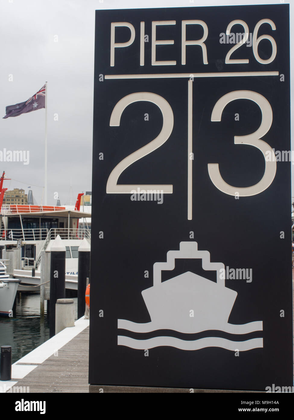 Pier 26 Darling Harbour - Stock Image