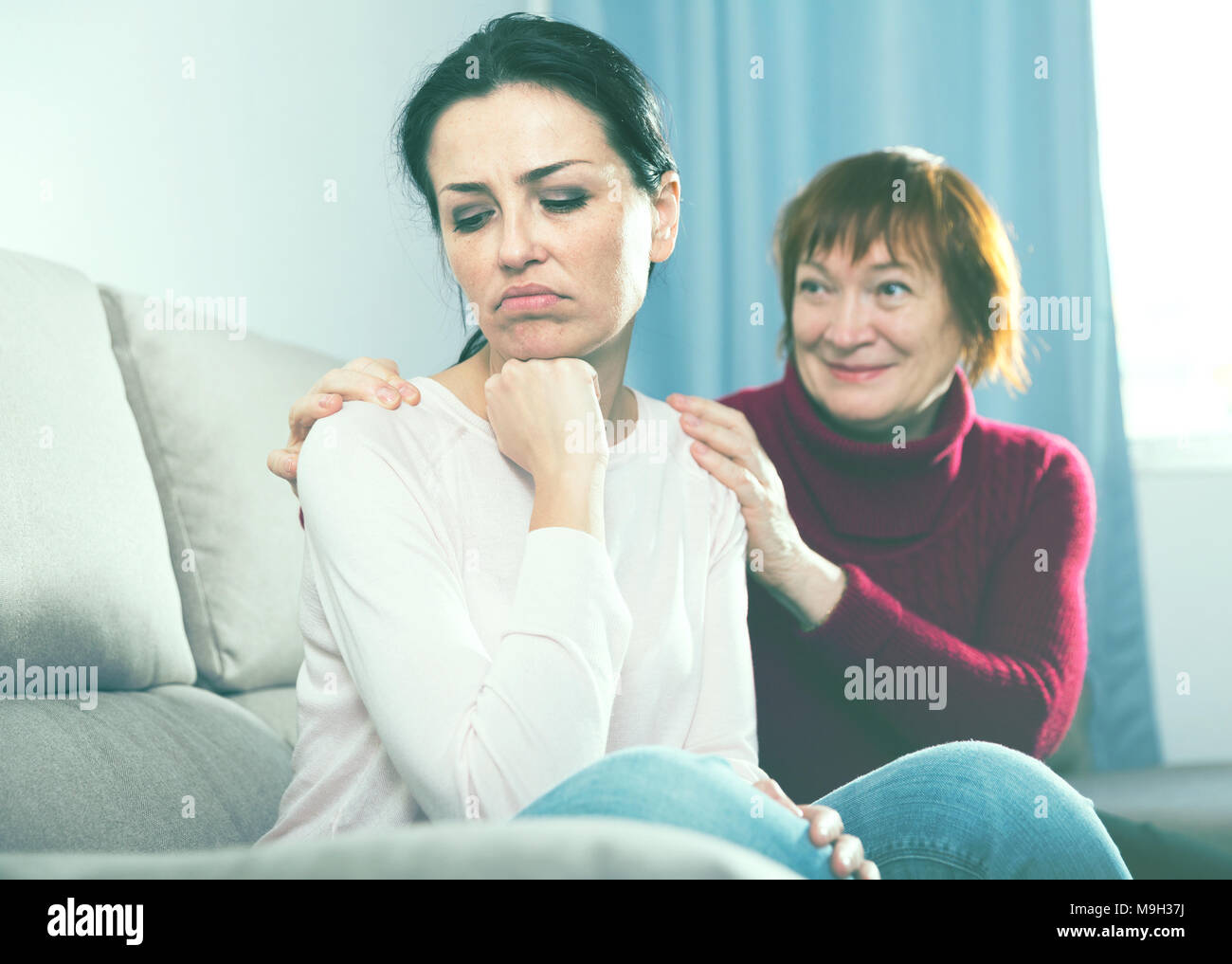 Looking after elderly mother