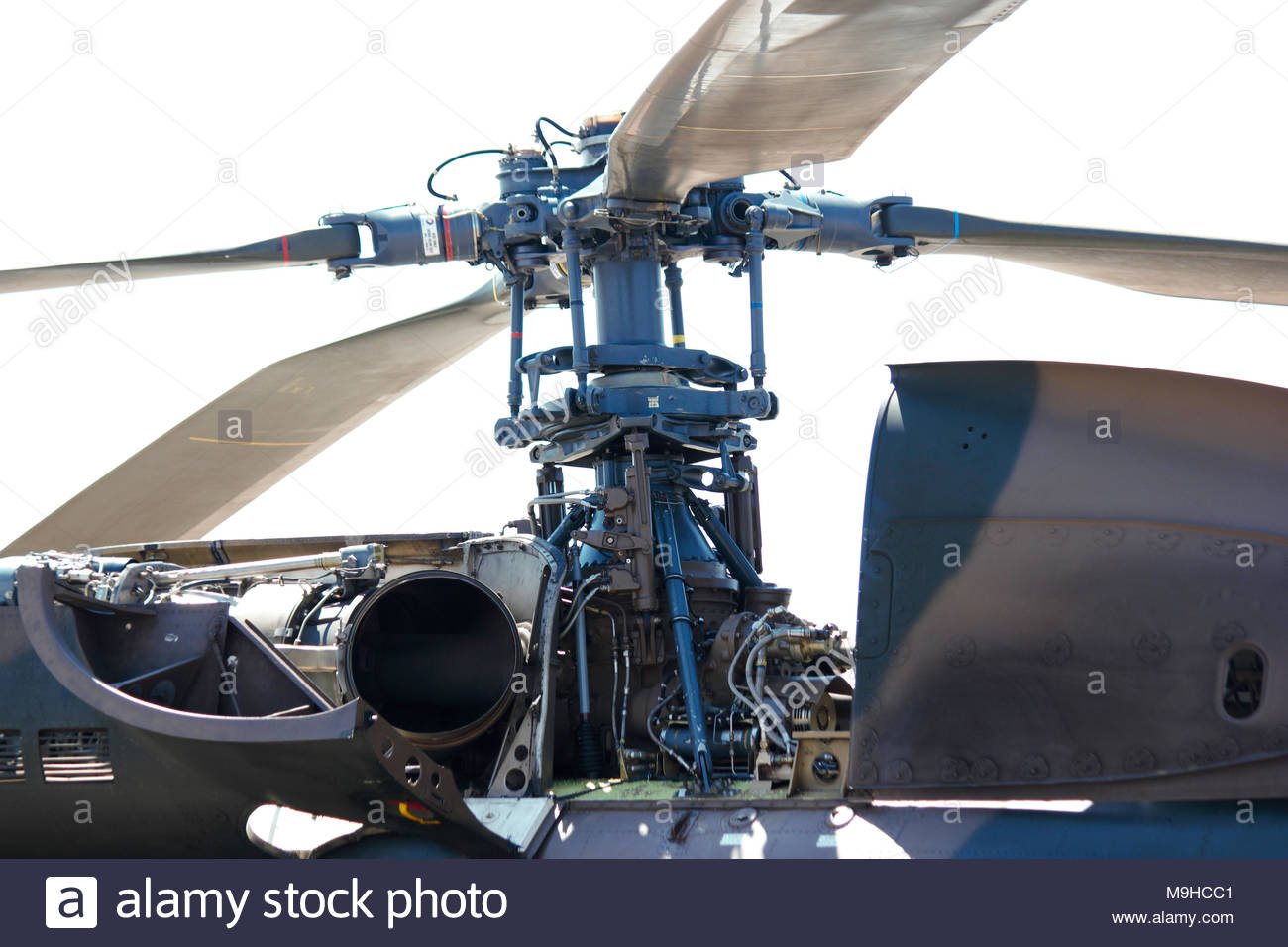 Atlas Oryx Helicopter Rotor Head Detail - Stock Image