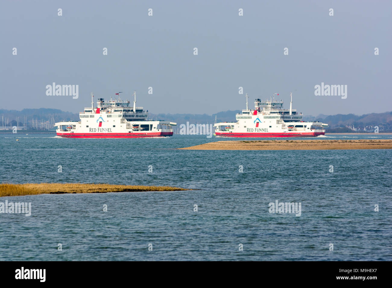 Island Wight Ferry Southampton East Cowes