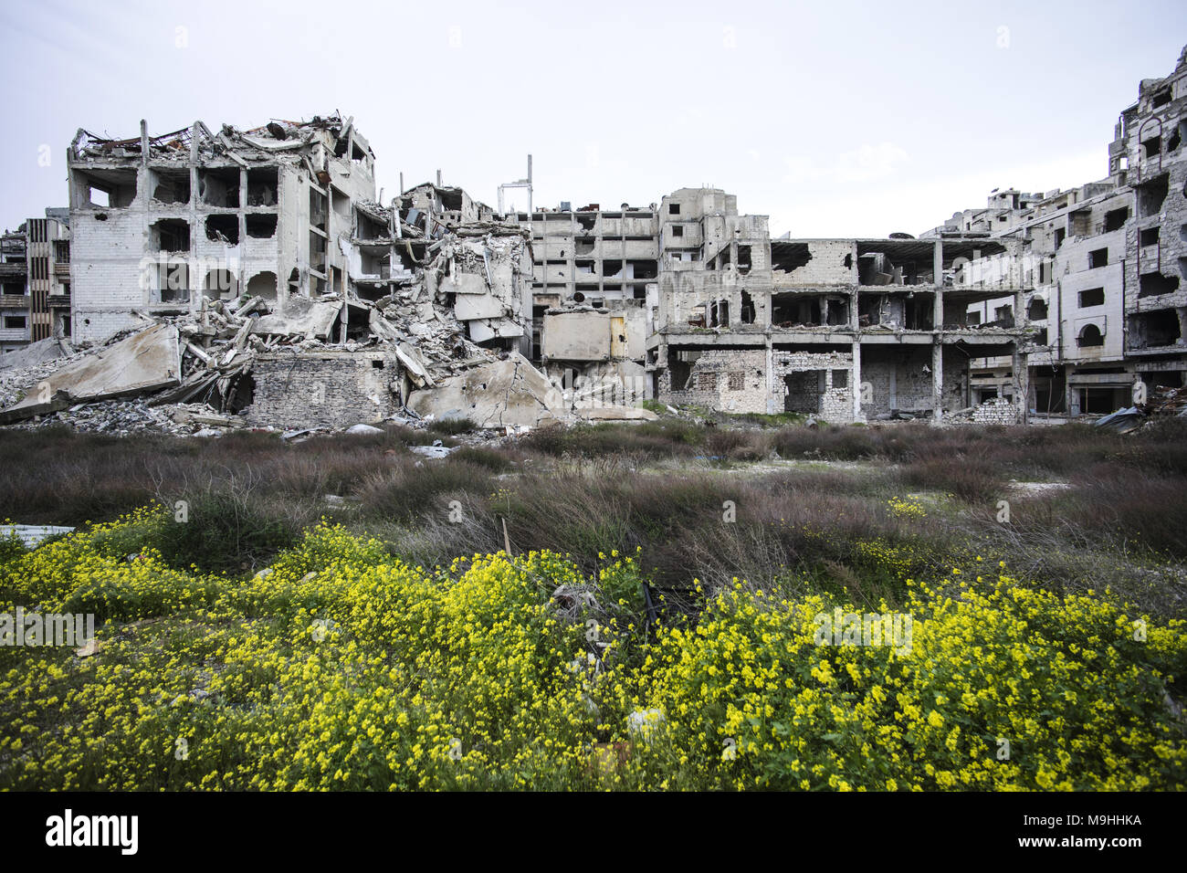 the city of Homs in Syria - Stock Image