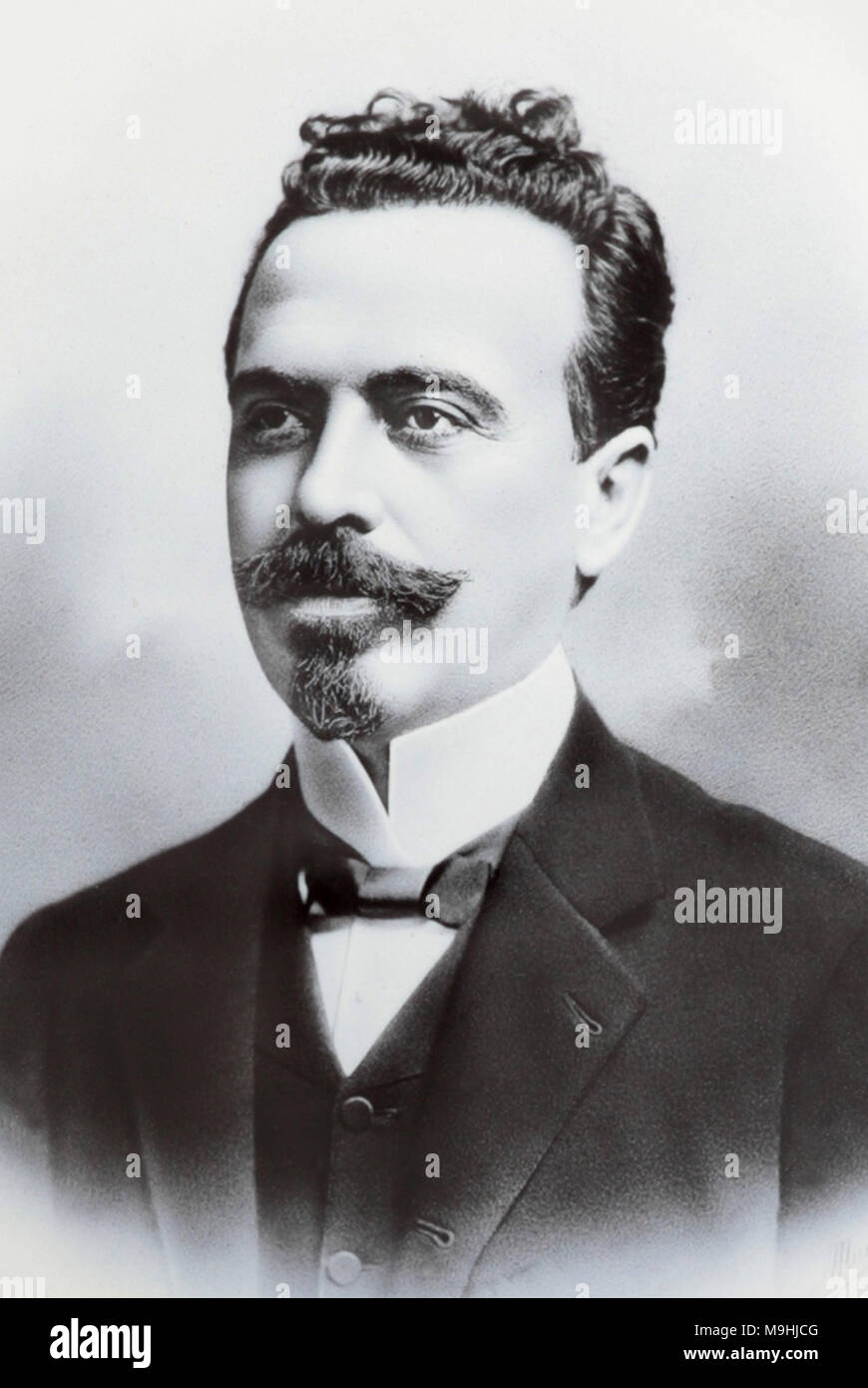 Nilo Procópio Peçanha (1867 – 1924) Brazilian politician who served as 7th President of Brazil. - Stock Image