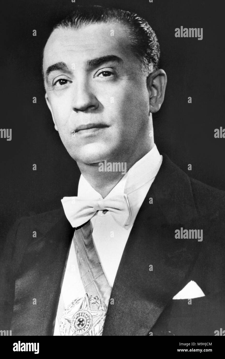 Juscelino Kubitschek de Oliveira (1902 – 1976), Brazilian politician who served as the 21st President of Brazil from 1956 to 1961. - Stock Image