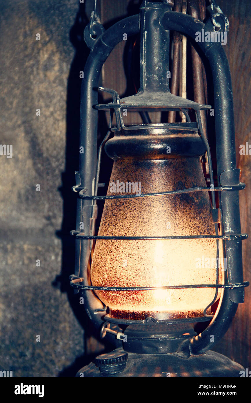 old lamp. photo - Stock Image