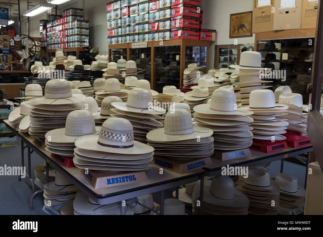 51633a02da6 Hat Shop Stock Photos   Hat Shop Stock Images - Alamy