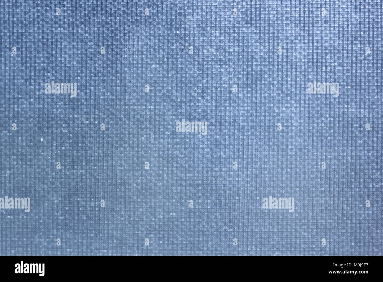 Close-up of vintage frosted meshed bathroom window from Grandma's house - Stock Image