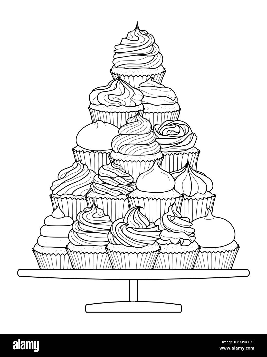 Dessert Presentation Template Stock Photos & Dessert Presentation ...