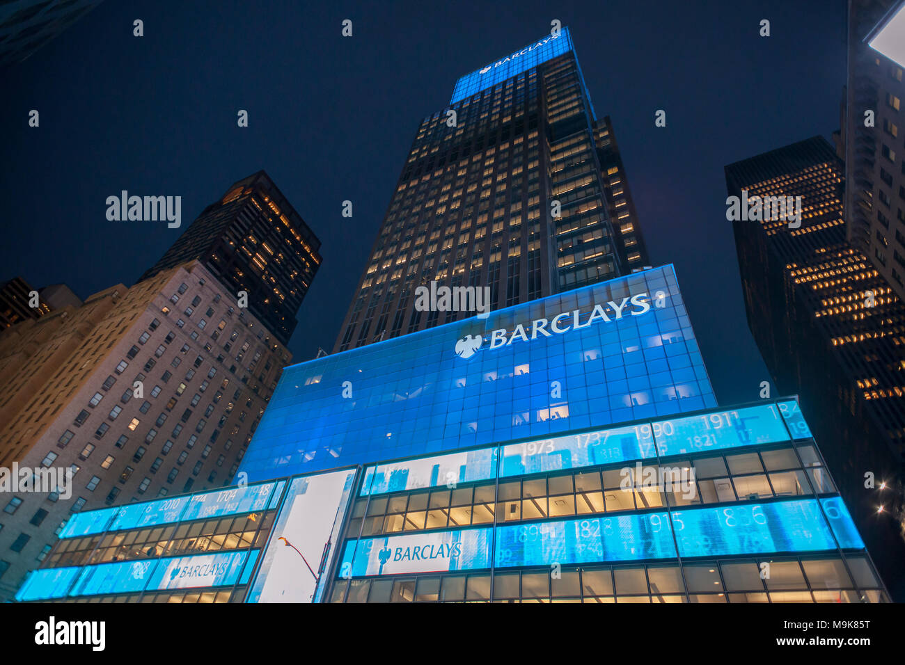 The former Lehman Brothers Global headquarters in New York
