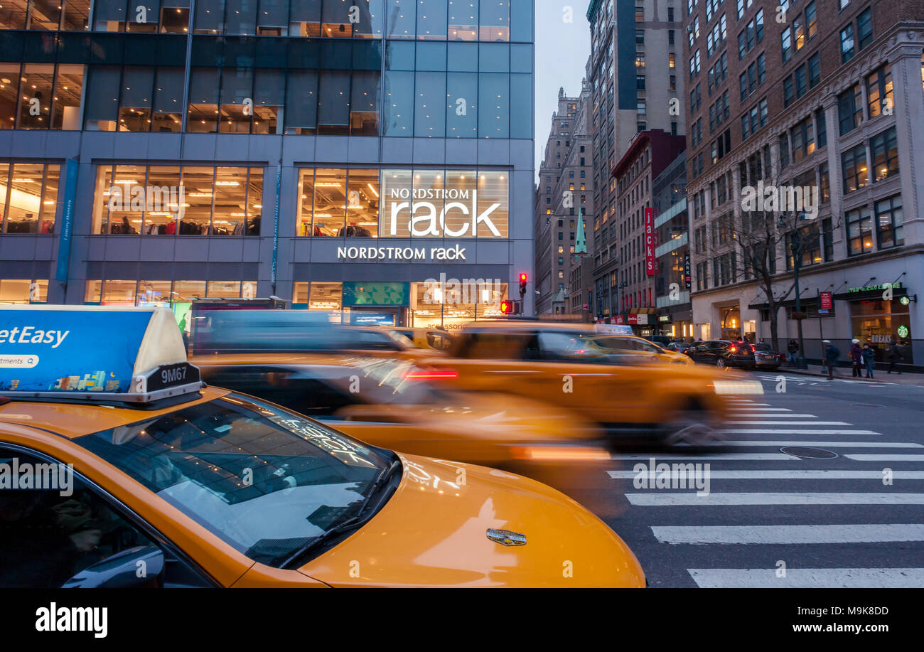 9659cb0dd The Nordstrom Rack off-price store in the Herald Square area of New York on