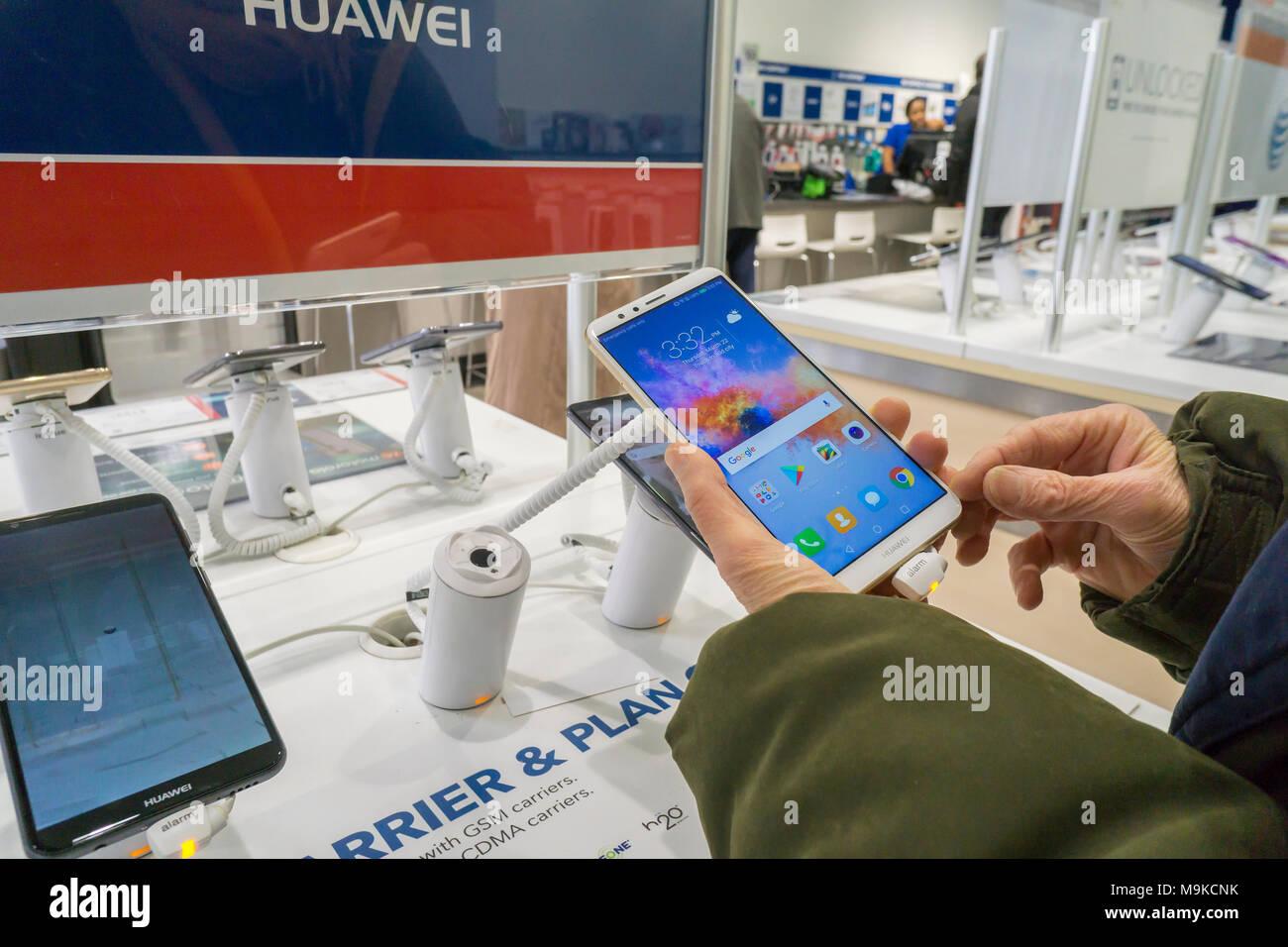 Huawei Store China Stock Photos & Huawei Store China Stock Images