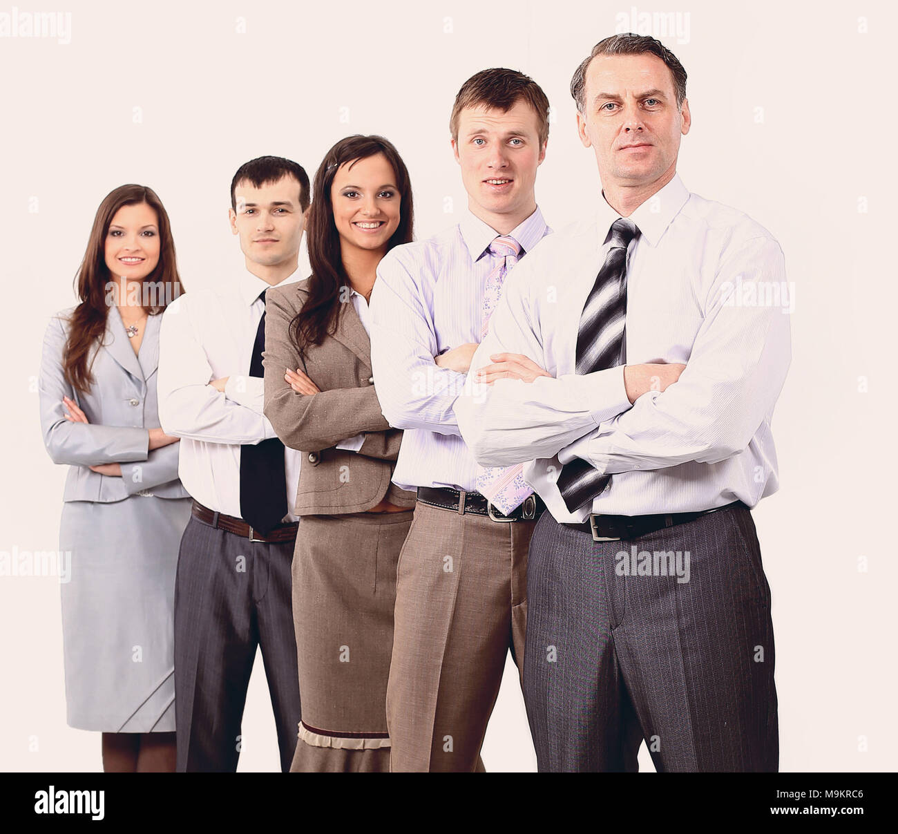 professional business team.photo in full growth - Stock Image