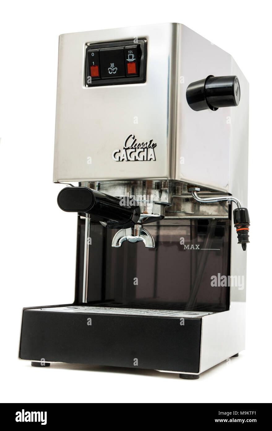 Gaggia Classic Semi Professional Manual Espresso Coffee Machine