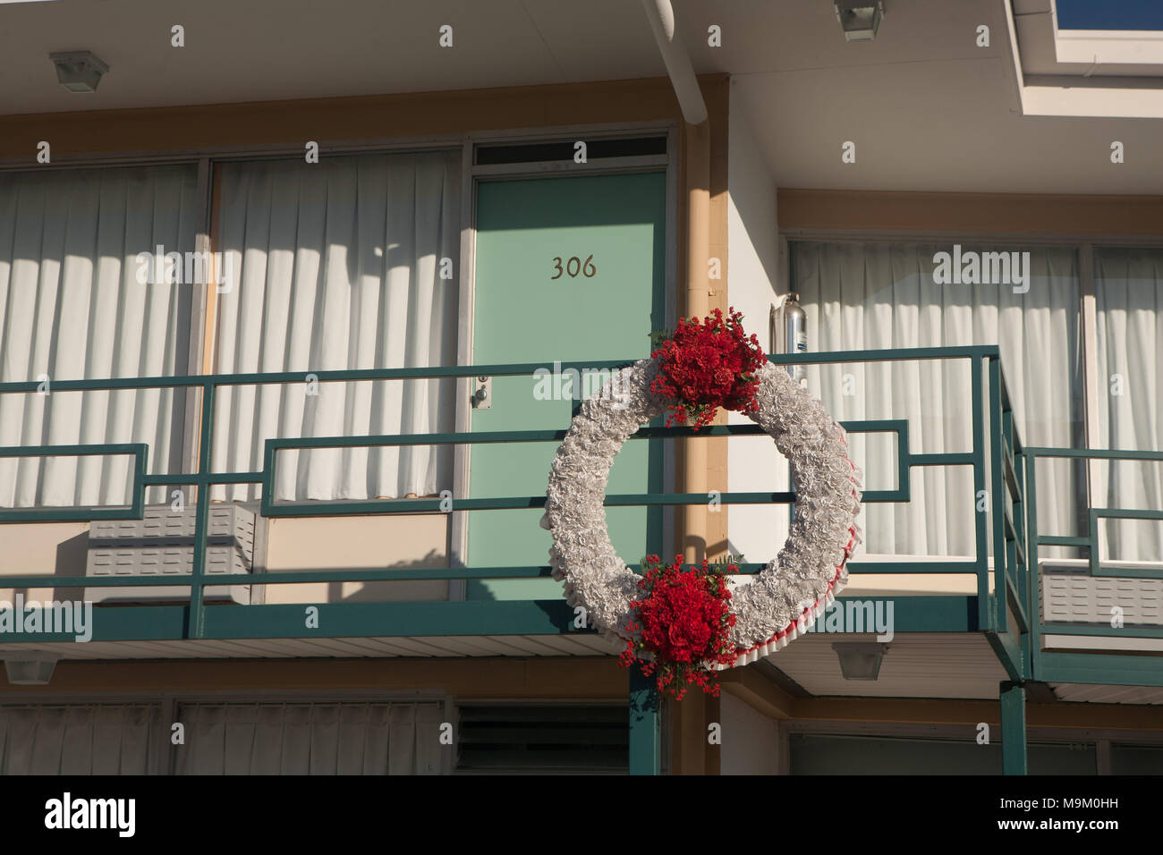 National Civil Rights Museum located in the old Lorraine Motel, site of the Martin Luther King, Jr assassination, in Memphis, Tennessee. Stock Photo