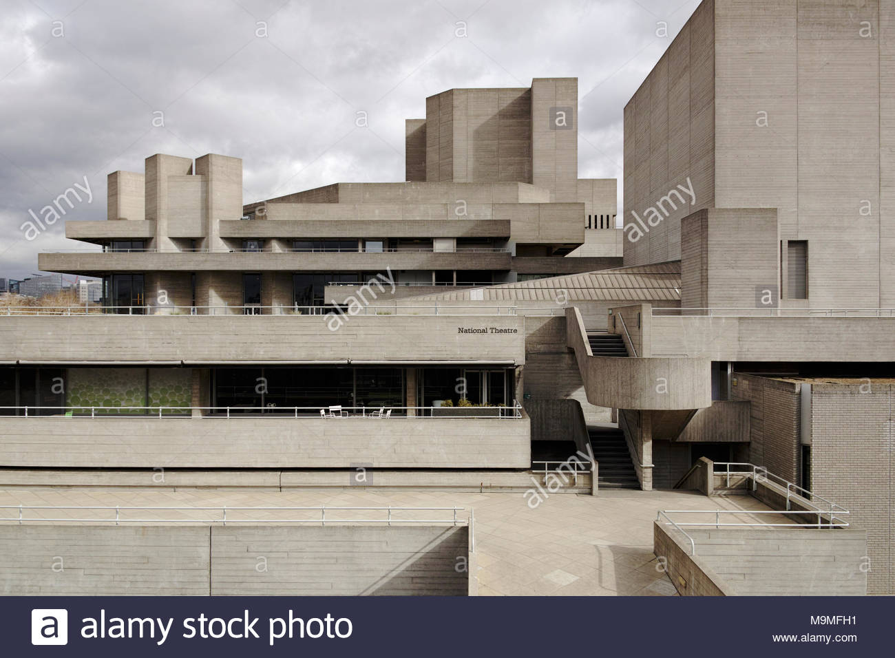 The National Theatre London Stock Photos & The National