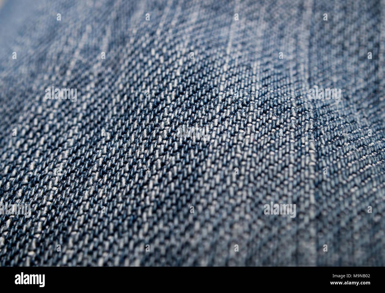 Macro shot of pants - Stock Image