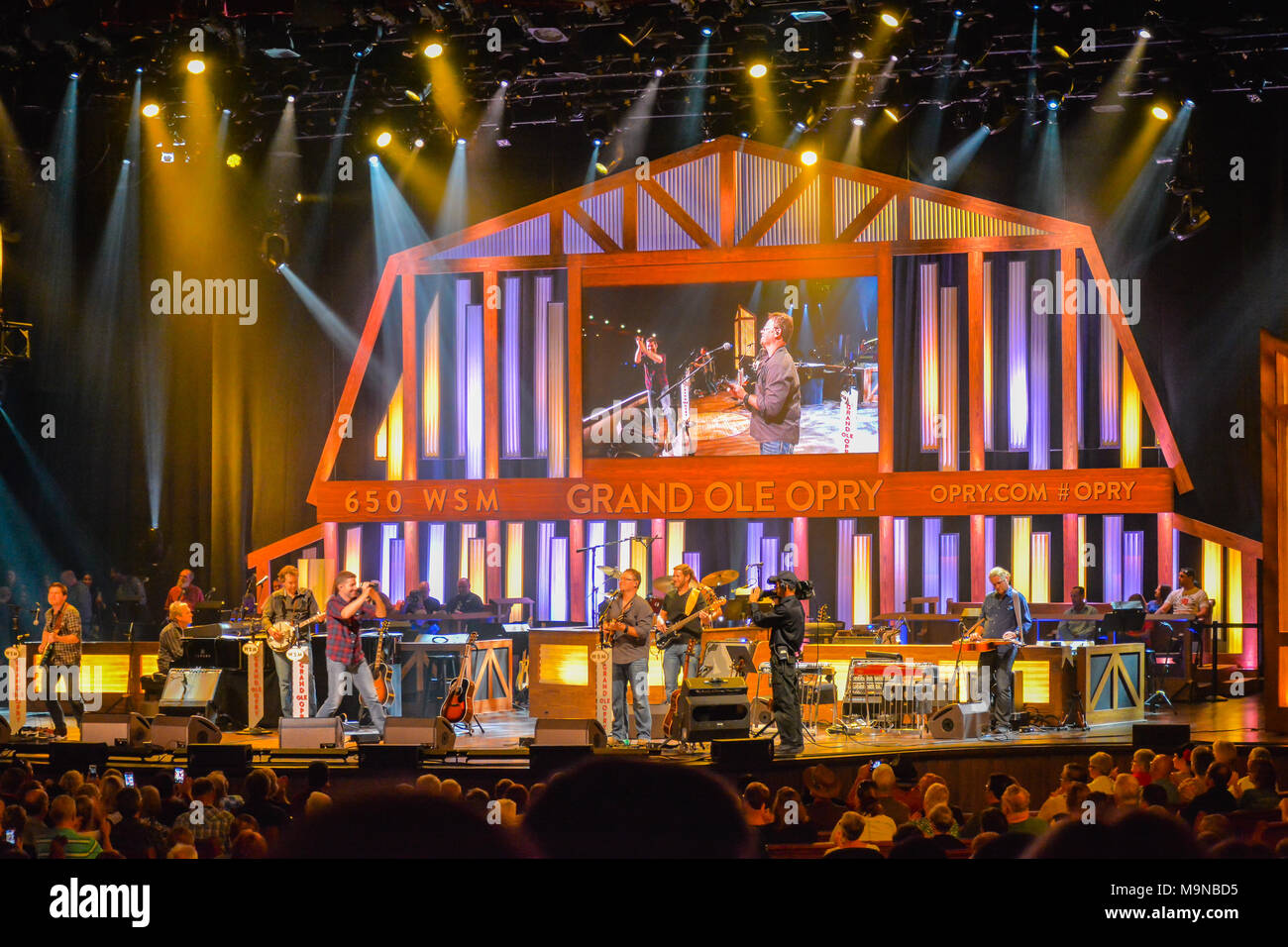 grand ole opry nashville tennessee stock photos & grand ole opry