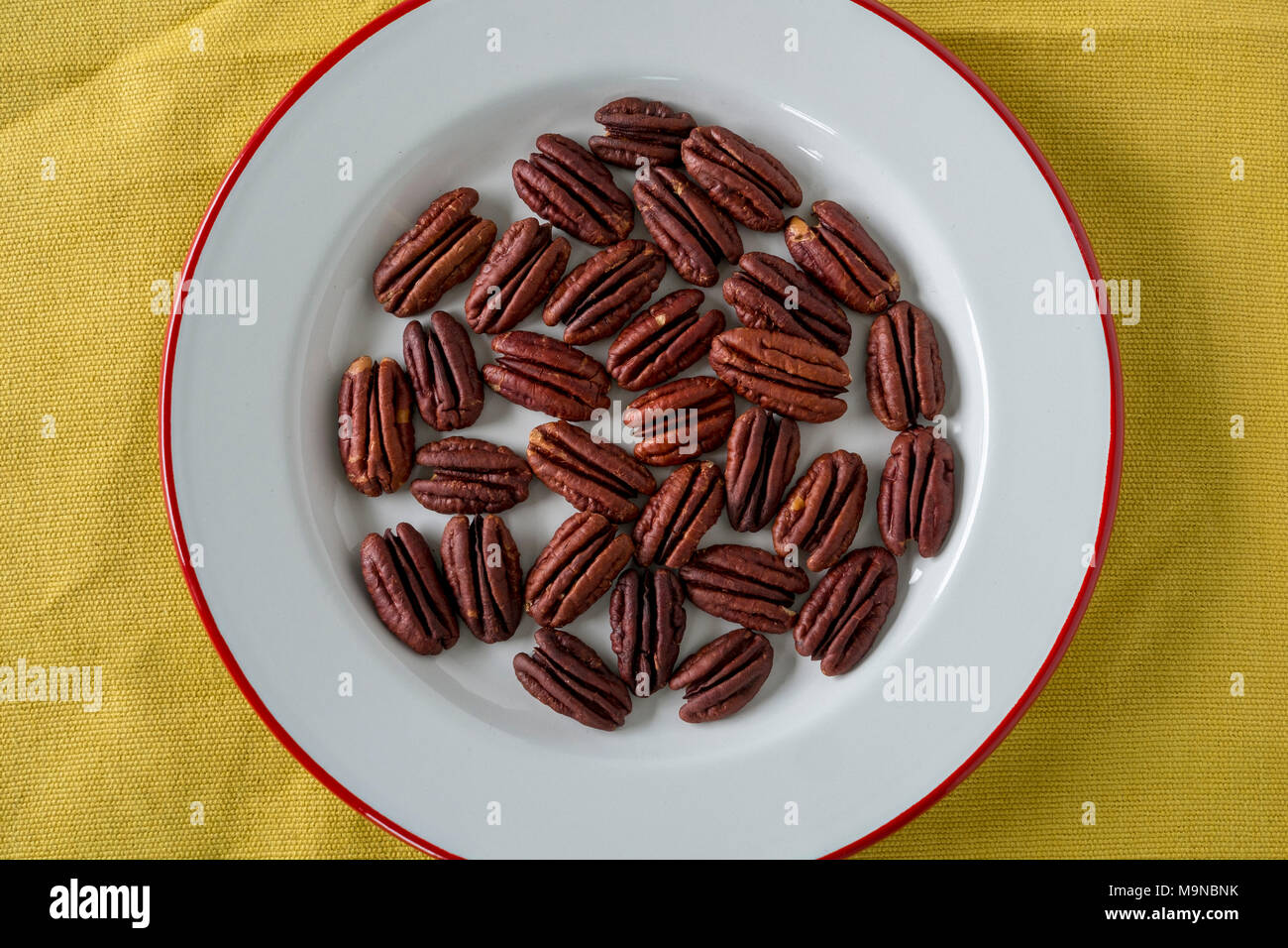 Toasted Pecans - Stock Image
