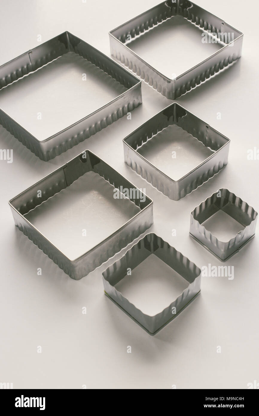 Biscuit Cutters - Stock Image