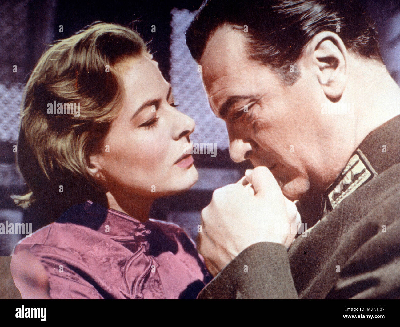 The Inn of the Sixth Happiness, aka: Die Herberge zur sechsen Glückseligkeit, USA 1958, Regie: Mark Robson, Darsteller: Ingrid Bergman, Curd Jürgens Stock Photo