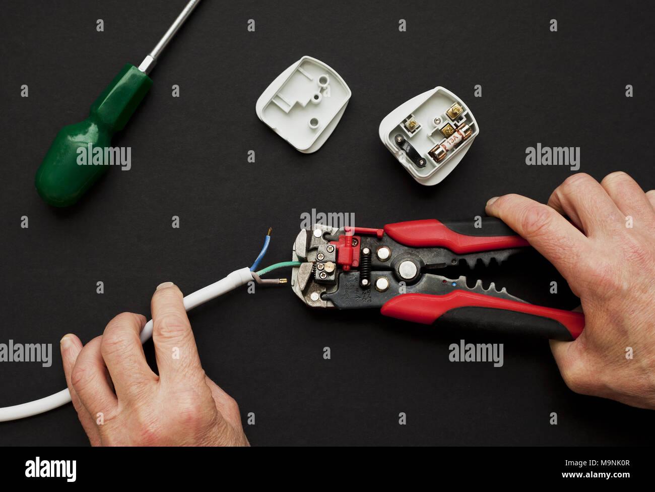 Electrical Hazard Plug Stock Photos & Electrical Hazard Plug Stock ...