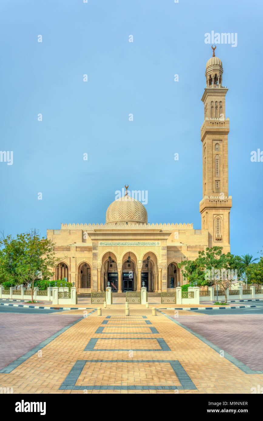 The Al Manara Mosque In Dubai Uae Middle East Stock Photo