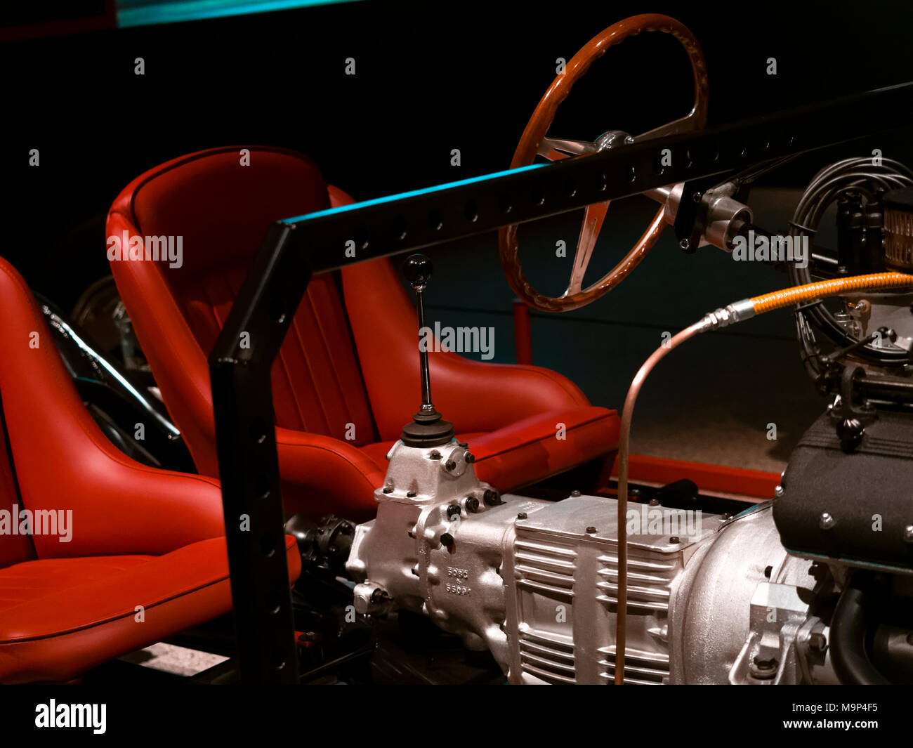 Ferrari 250 GT Chassis only from 1957, Ferrari is an Italian Sports Car manufacturer founded in Italy 1947. - Stock Image