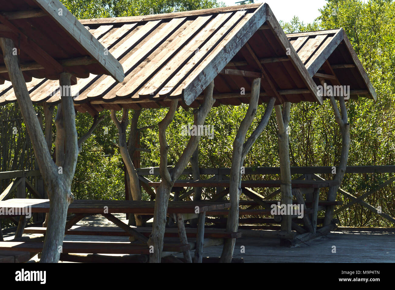 Wondrous Pavilion Wooden Handmade Tables And Benches Made Of Wood Evergreenethics Interior Chair Design Evergreenethicsorg