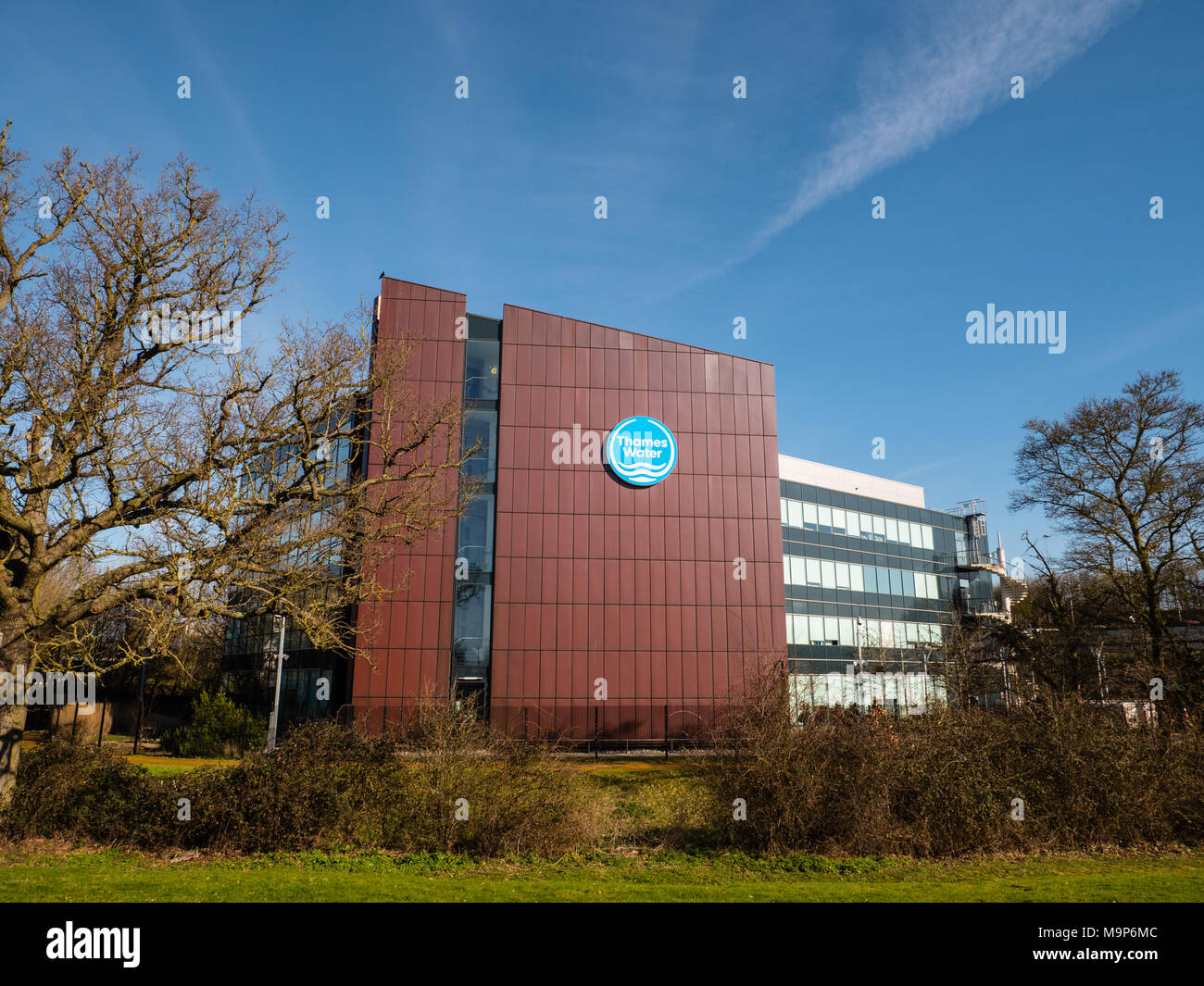 Thames Water Offices, Green Park Business Park, Reading, Berkshire, England, UK. - Stock Image