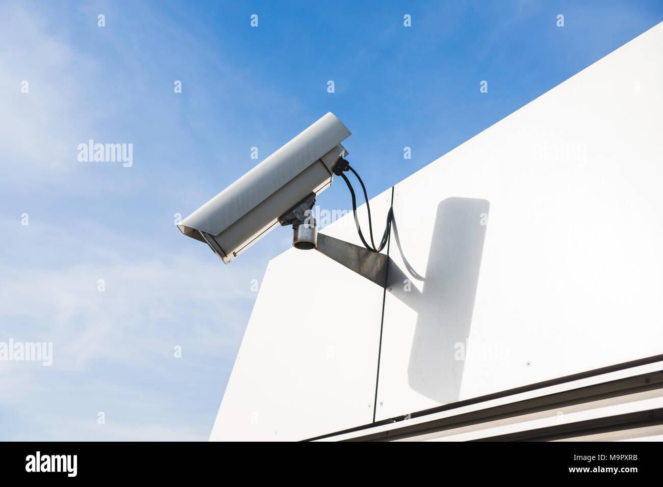 Surveillance camera, video surveillance, Hamburg, Germany - Stock Image
