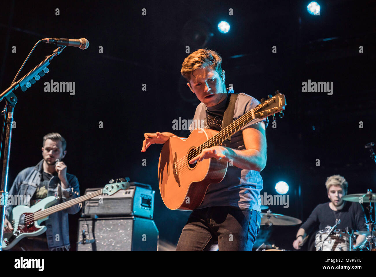 Niall Horan Glasgow Sse Hydro 2018 Flicker World Tour Adored By The Huge Glasgow Crowd At The Armadillo Stock Photo Alamy