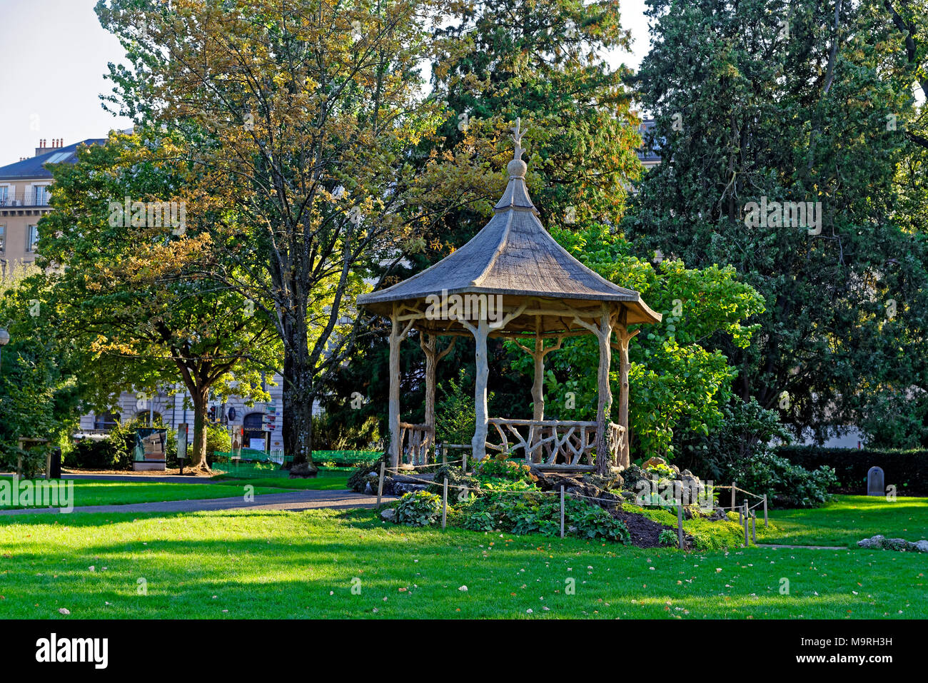 Jardin Anglais Geneve High Resolution Stock Photography And Images