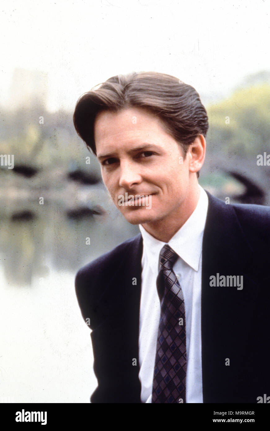for love or money, 1993, michael j. fox - Stock Image