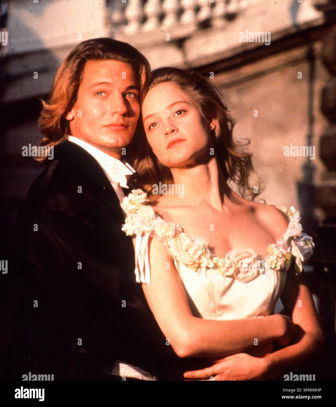 the phantom of the opera, 2004, gerard butler, emmy rossum - Stock Image