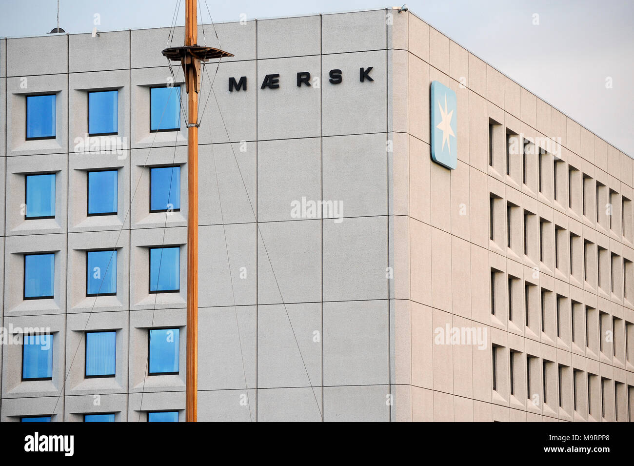 Headquaters Of A P Moller Maersk Group Danish Business Conglomerate In Transport Logistics And Energy Sector One Of The Largest Container Ship Ope Stock Photo Alamy